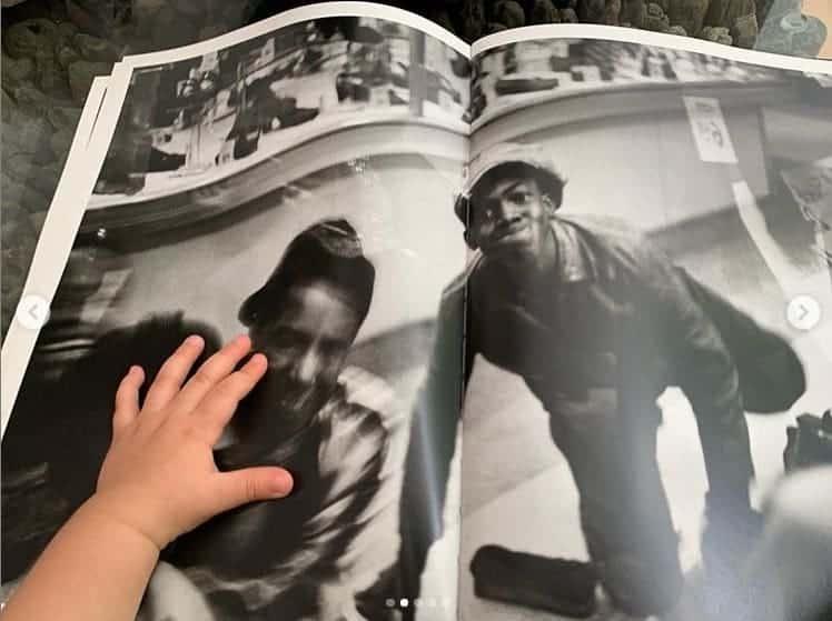 José Loreto posta foto da filha Bella