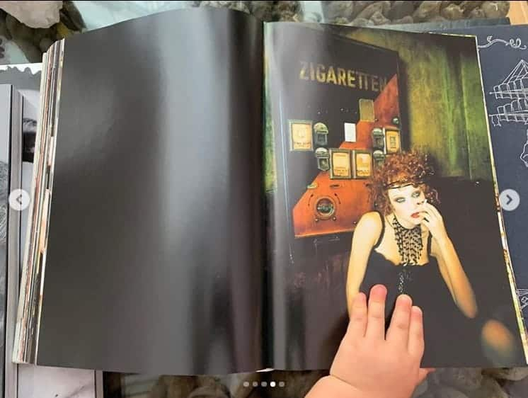 José Loreto posta foto da maozinha da filha folheando um livro