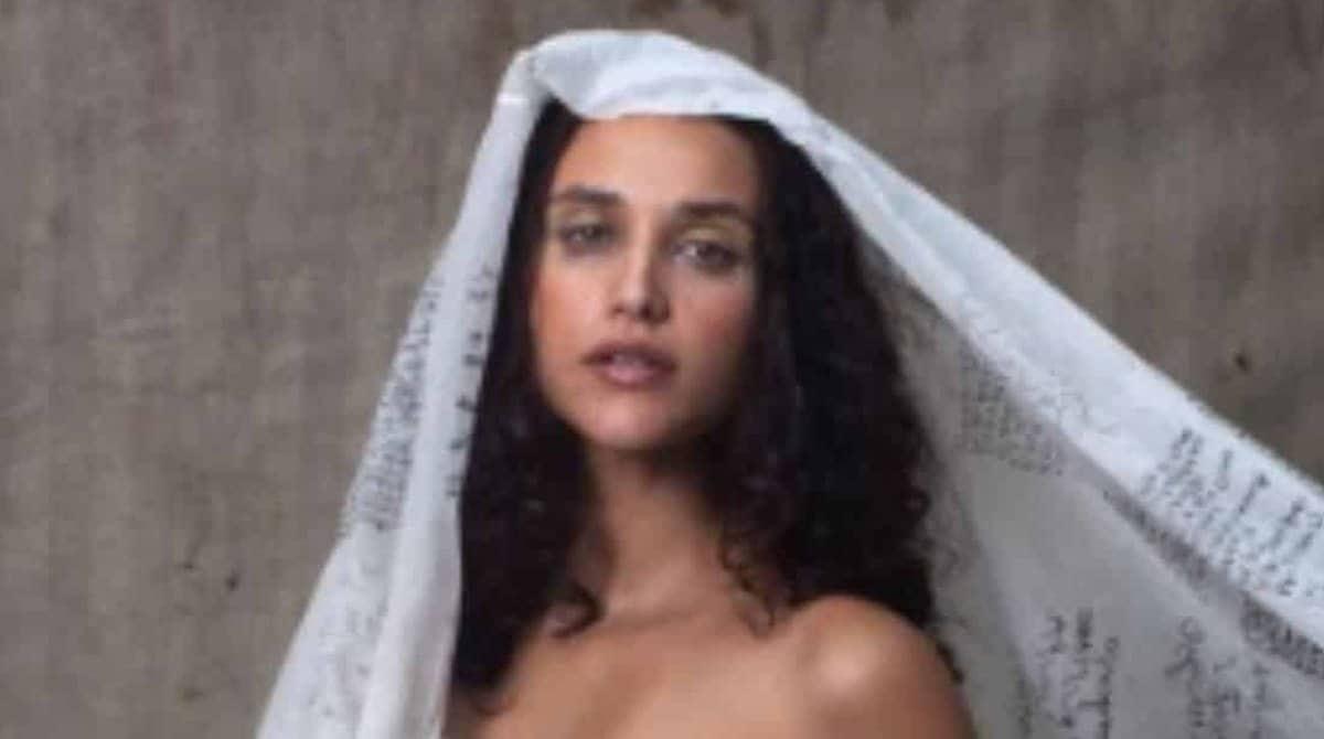 Veja o ensaio de gestante que a atriz Débora Nascimento fez