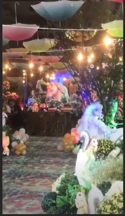 Veja a decoração da linda festa de Bella