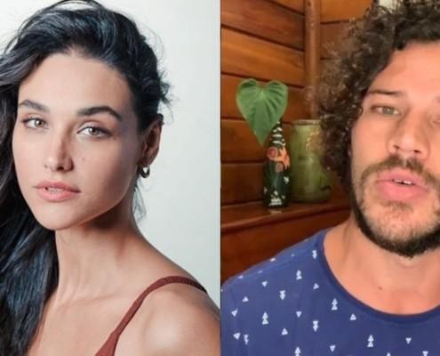 José Loreto posou com a filha com Débora Nascimento
