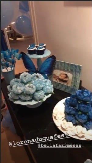 Alguns doces da festa de Bella Loreto