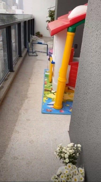 Duda Nagle revelou a casa de brinquedo de Zoe