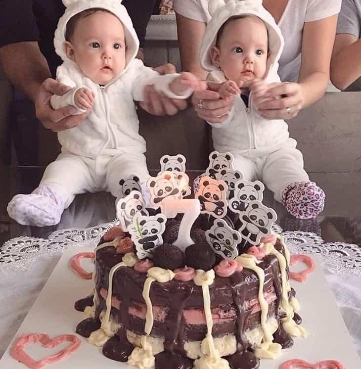 Eliana mostrou estas bebês gêmeas que sofrem com doença rara
