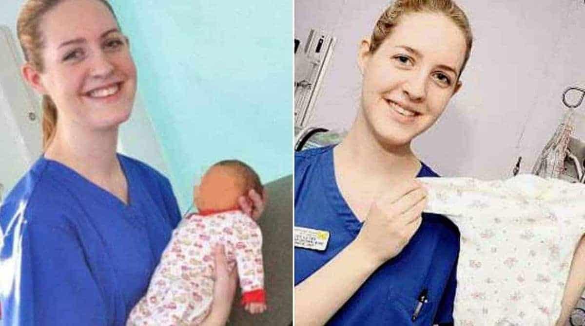 A enfermeira inglesa Lucy Letby foi presa acusada de matar oito recém-nascidos