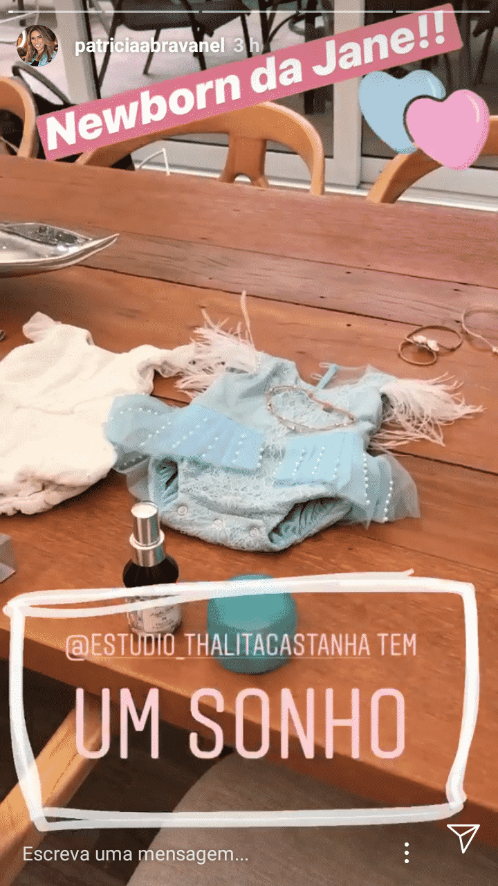 Um pouco do ensaio newborn da pequena Jane