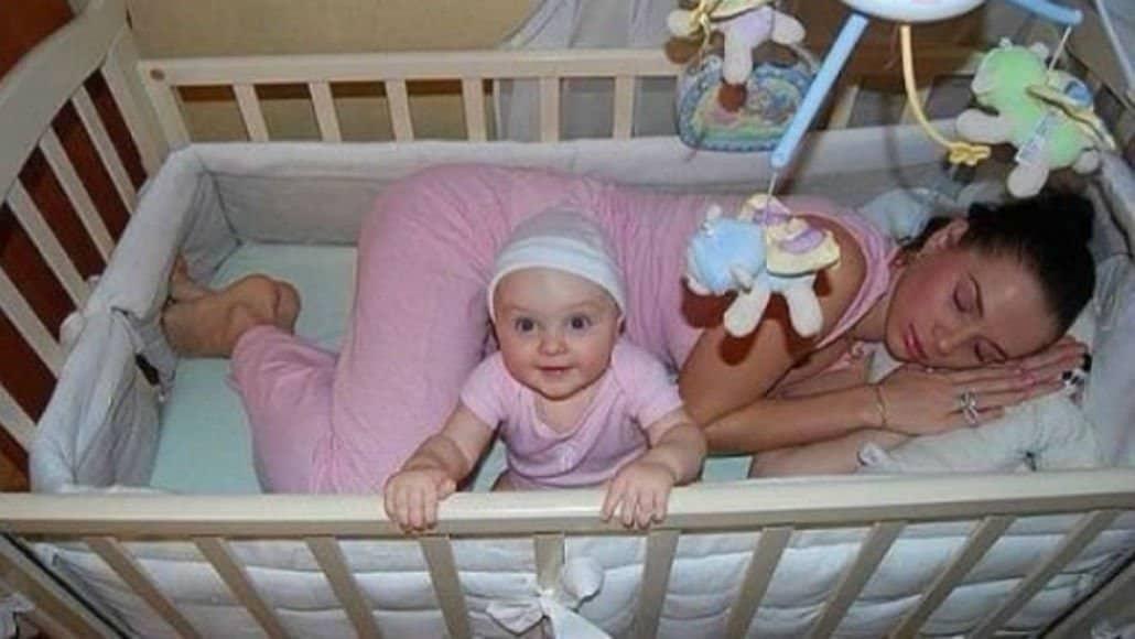 Dormindo com o bebê