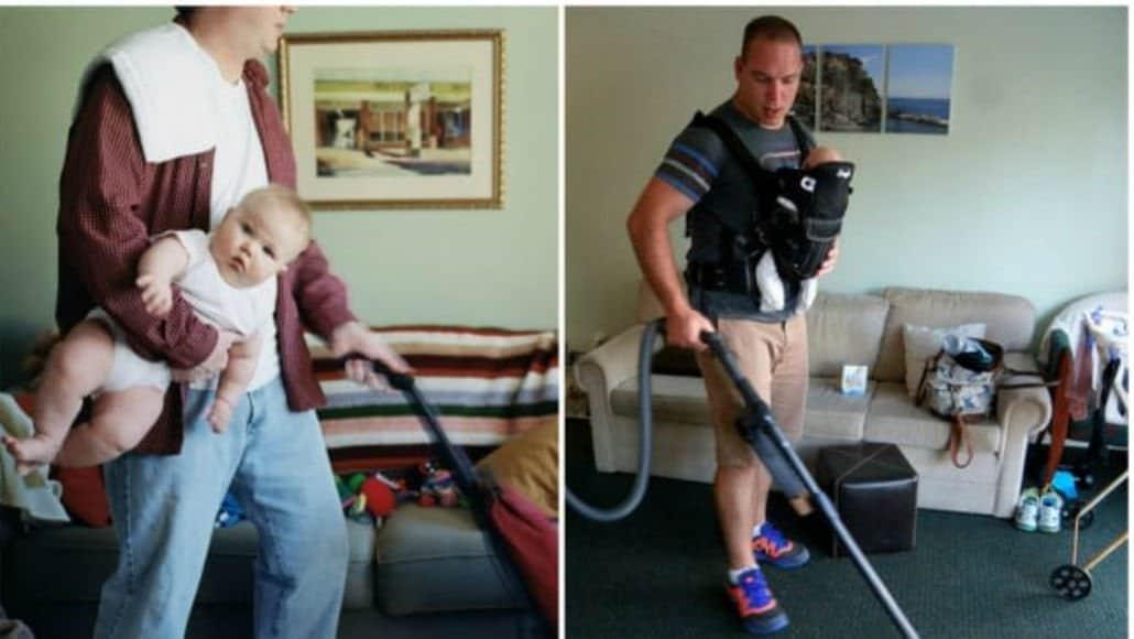 Arrumar a casa com o bebê