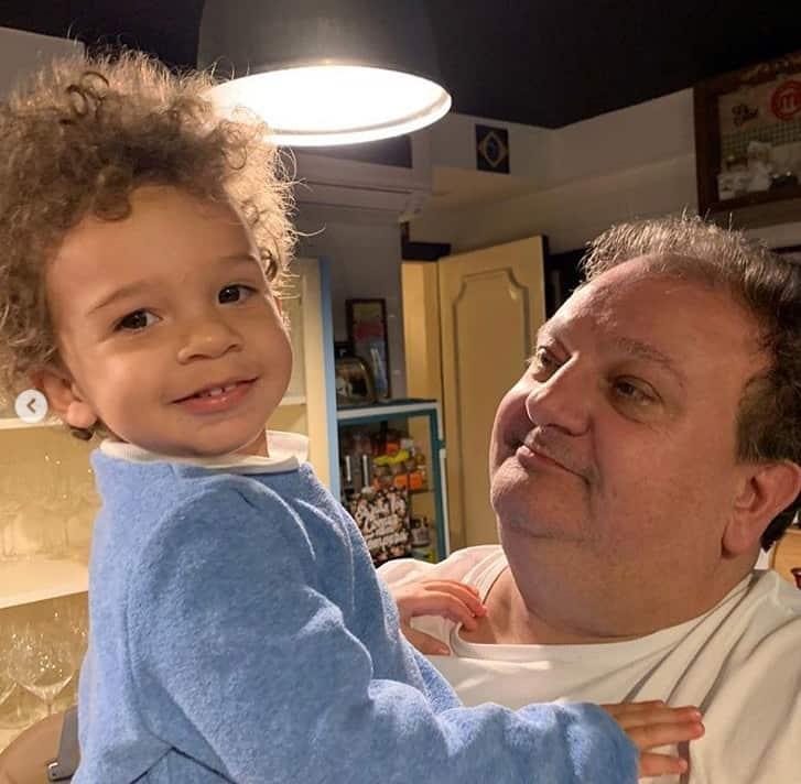 Erick Jacquin com o filho Antonie