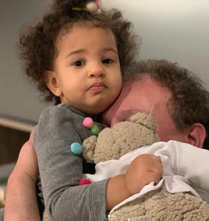 Erick Jacquin com a pequena Élise