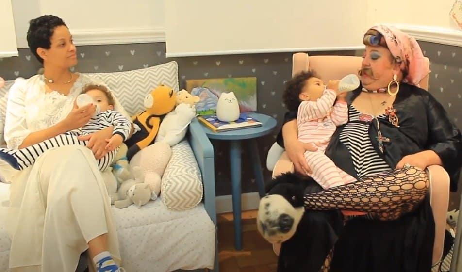 Chef Erick Jacquin com seus filhos gêmeos