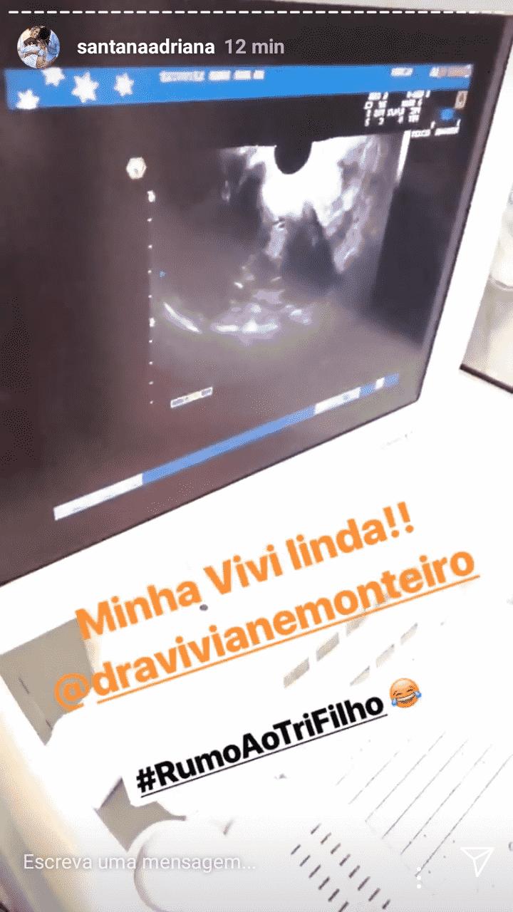 Adriana Sant'Anna já pensa em engravidar novamente