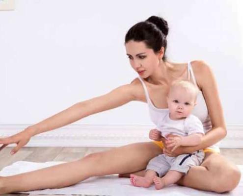 Confira dicas de exercícios para a mãe de bebê