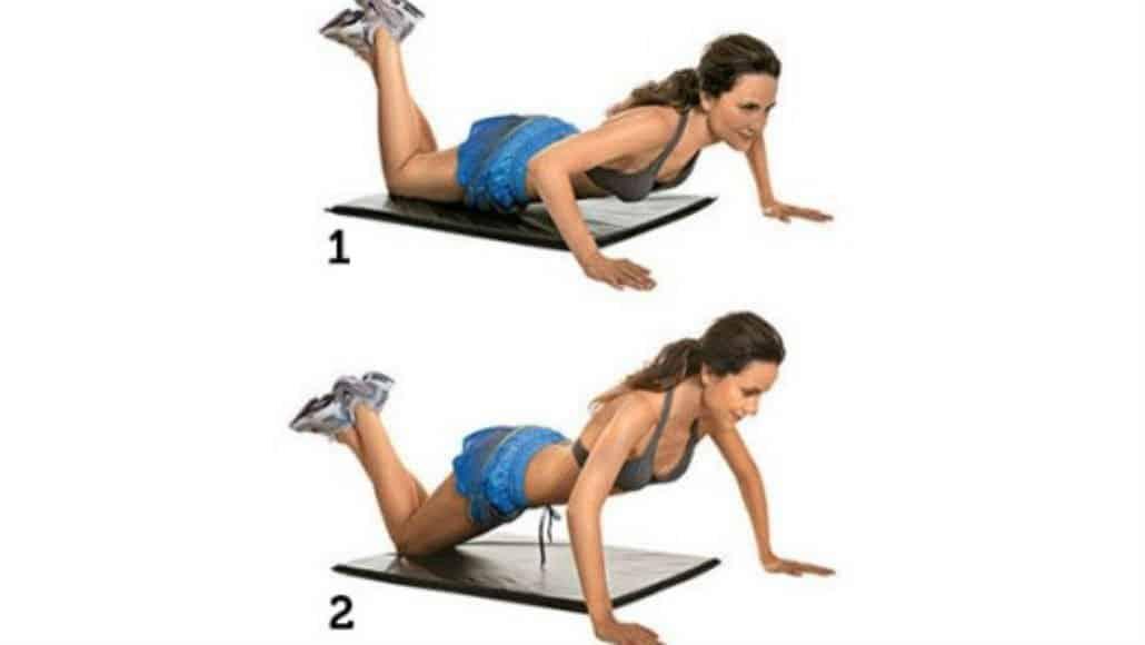 Exercitar o peitoral é importante e está na lista dos exercícios para a mãe de bebê