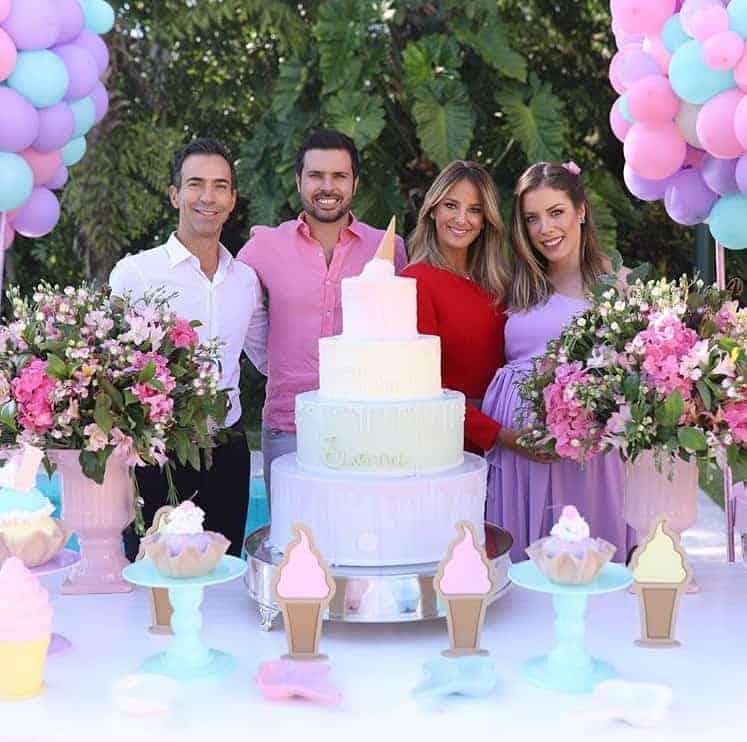 Estavam no chá de bebê das Fabiana Justus, Ticiane Pinheiro e César Tralli