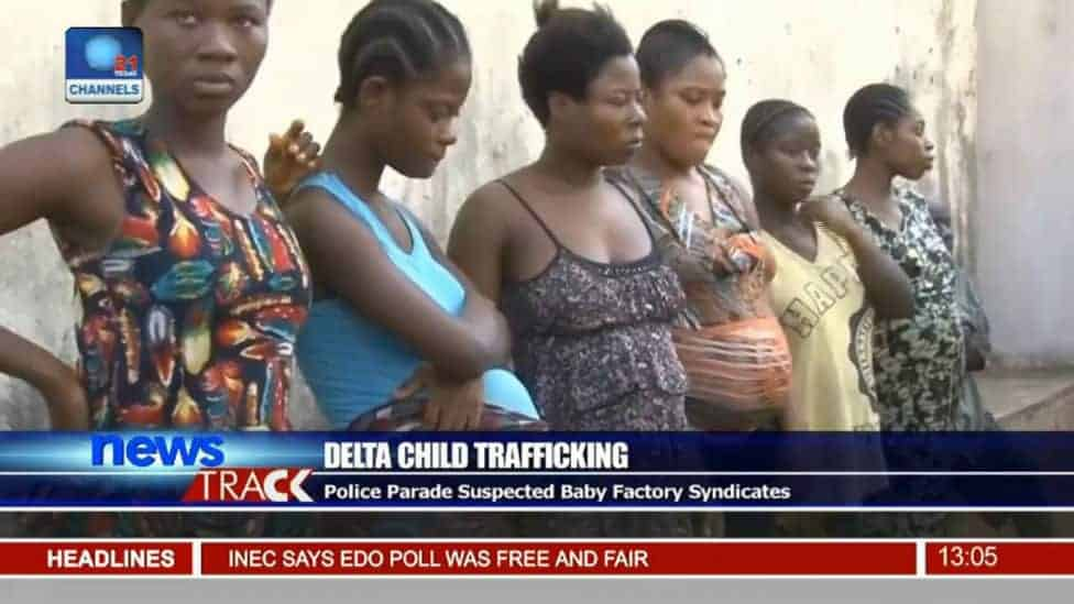 """Gestantes que foram resgatadas da """"fábrica de bebês"""""""