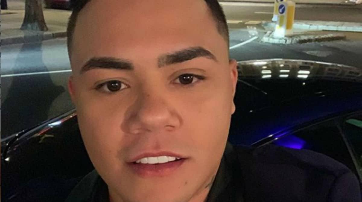 Veja o momento que o cantor Felipe Araújo compartilhou de seu filho