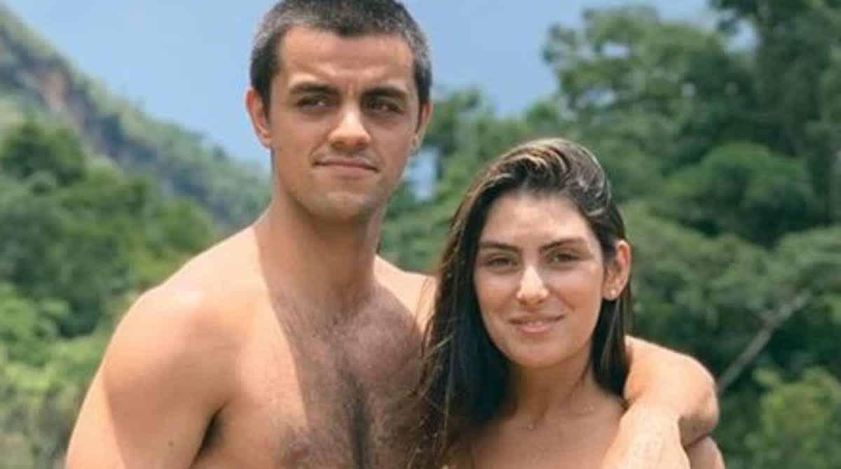 Esposa de Felipe Simas mostrou o barrigão de grávida e recebeu elogios