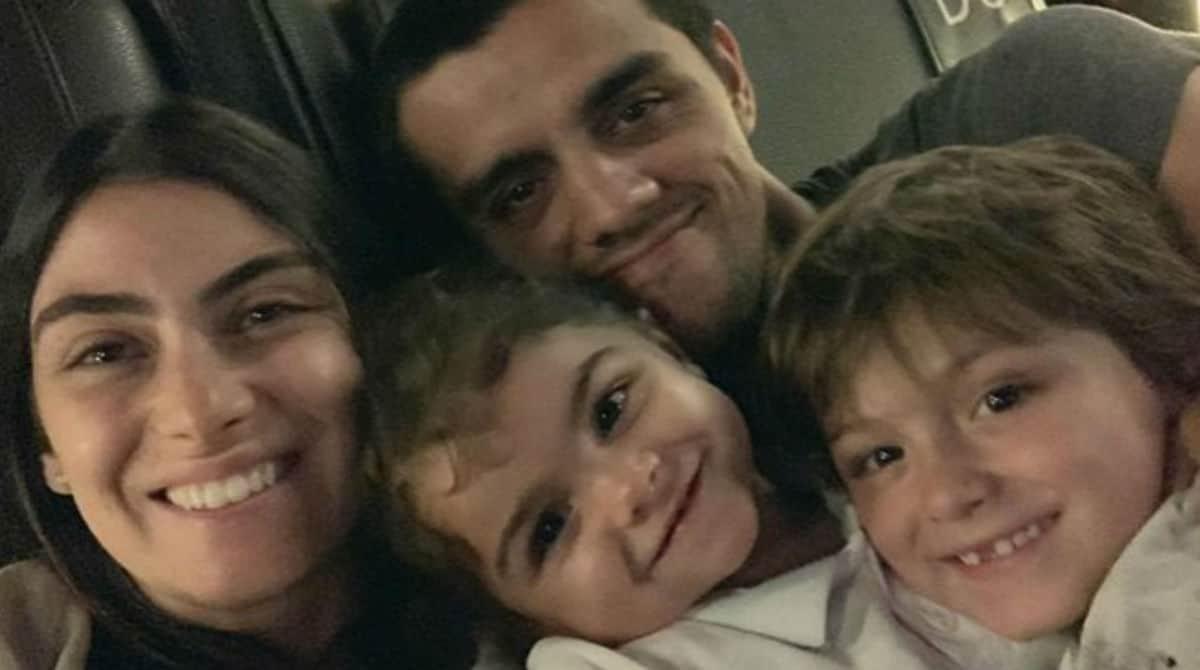 Esposa de Felipe Simas falou sobre virose da filha