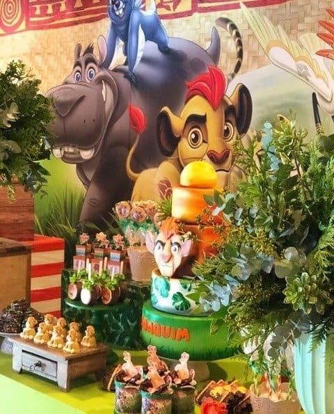A linda decoração do aniversário do filho de Felipe Simas