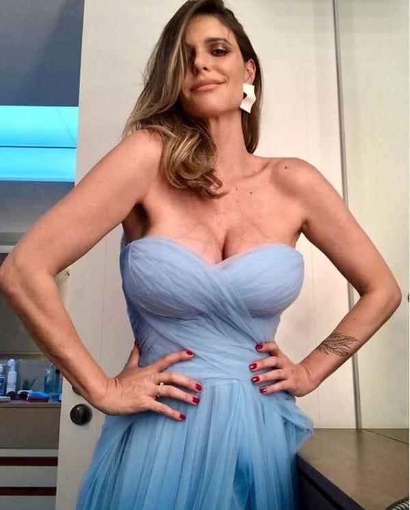 Fernanda Lima pronta para ser madrinha de casamento, mas acabou não indo
