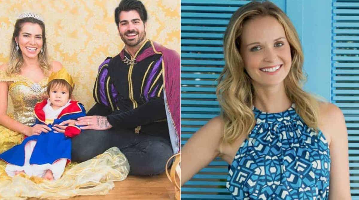 Com tom de piada a atriz Fernanda Rodrigues fala sobre a festa de aniversário do filho da ex-BBB Adriana Sant'anna