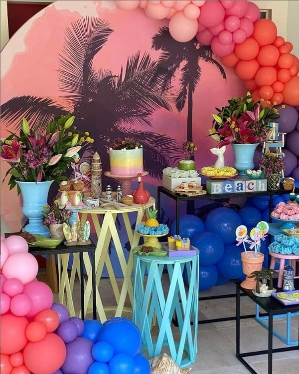 Al linda festa da filha de Fernanda Rodrigues