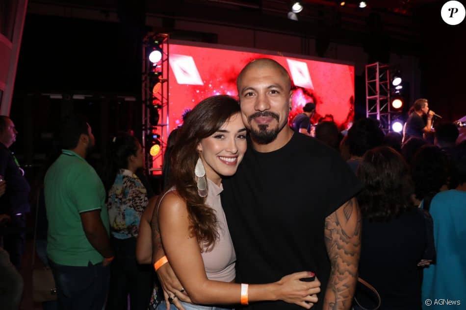 Fernando Medeiros com a nova namorada