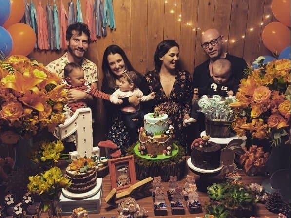 Tainá Müller, Henrique Sauer e família