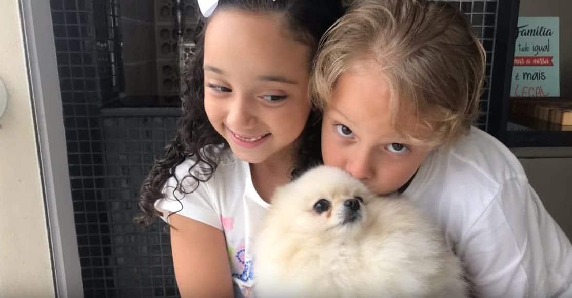 Davi Lucca criou seu canal no Youtube