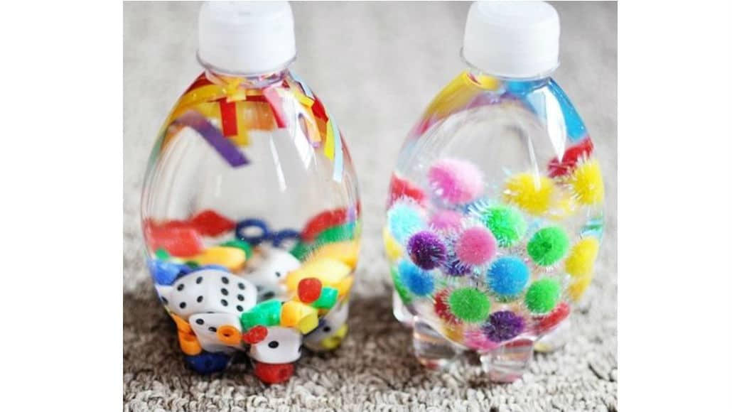Como fazer garrafas sensoriais