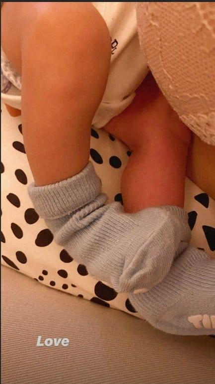 Filho recém-nascido de Giovanna Ewbank e Bruno Gagliasso