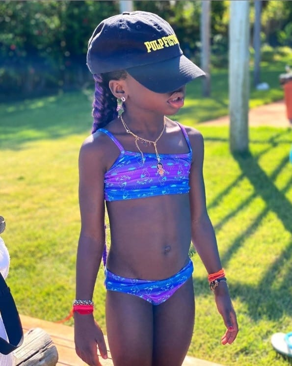 A foto que Giovanna Ewbank mostrou da filha Titi