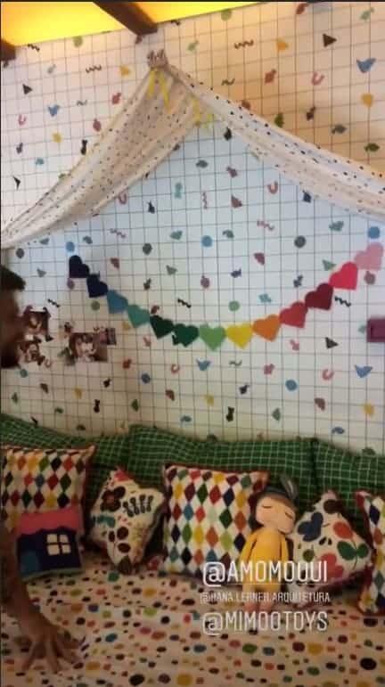 Um pouco mais do novo quarto de Titi, filha de Giovanna Ewbank e Bruno Gagliasso