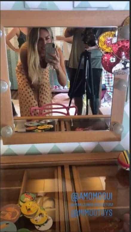 Giovanna Ewbank publicou mais uma foto do quarta da Titi