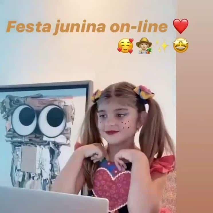 A filha de Grazi Massafera e Cauã Reymond, Sofia