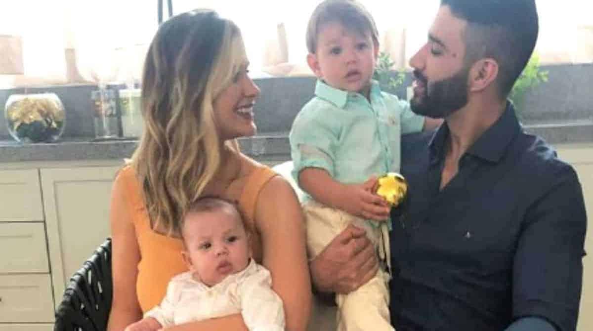 Gabriel, filho de Gusttavo Lima e Andressa Suita, encanta a web