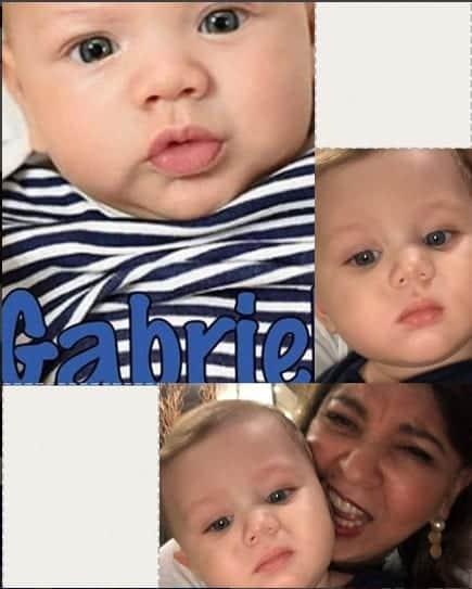 Publicação da Roberta Miranda comparando o bebê Pietro com Gabriel