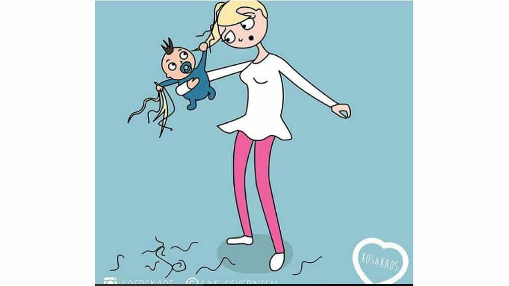 Divirta-se com essas ilustrações sobre as mamães