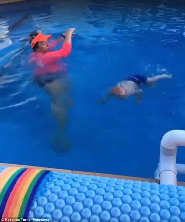 O vídeo da aula de natação deixou as pessoas confusas