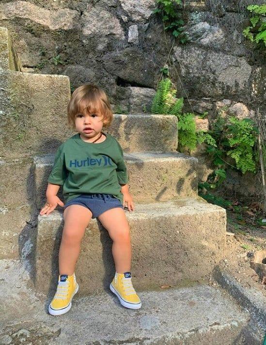 O filho da atriz Isis Valverde