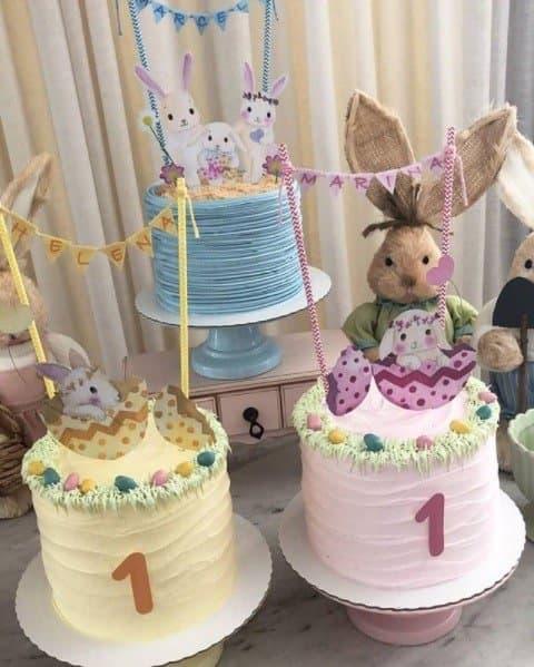 Os dois bolos para as gêmeas de Ivete Sangalo
