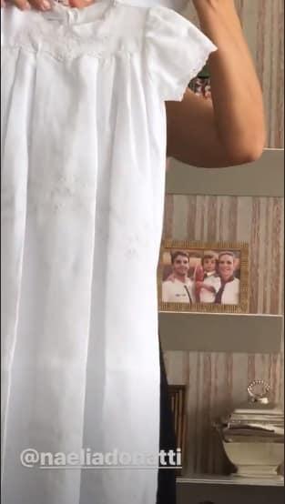 Esse foi o outro vestidinho que Ivete Sangalo escolheu para sua filha