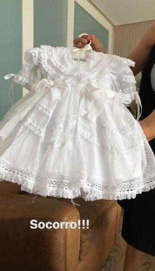 Esse pode ser um dos vestidinhos que as gêmeas de Ivete Sangalo usarão
