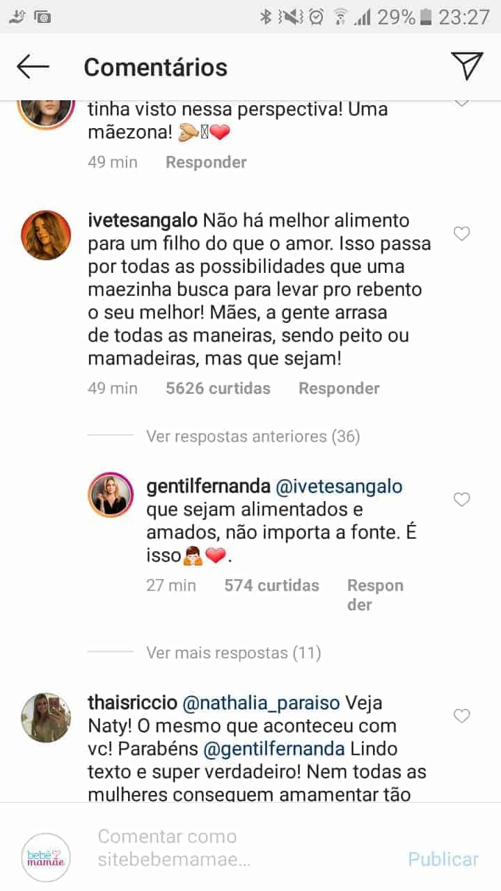 Veja o que Veveta respondeu para Fernanda Gentil