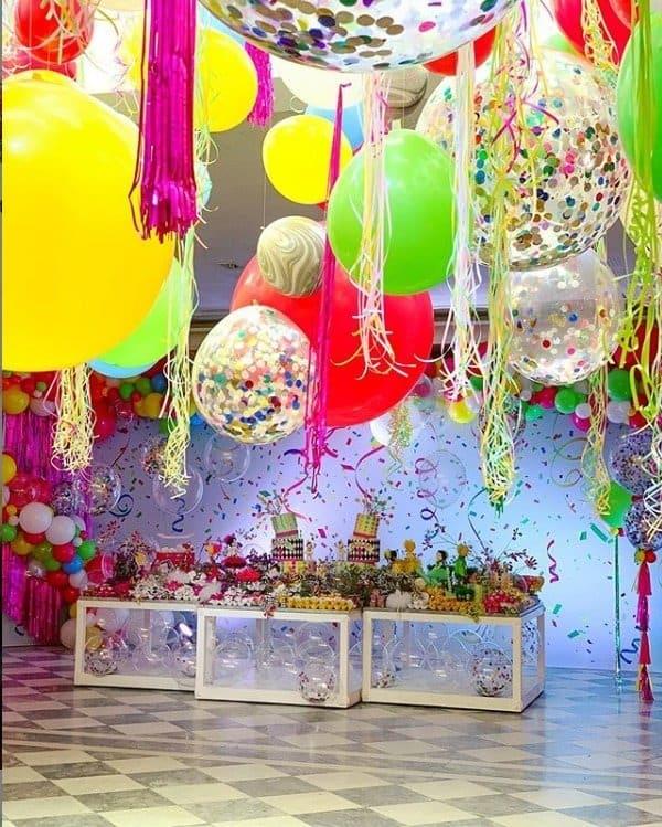 Decoração da festa de dois anos das gêmeas de Ivete Sangalo
