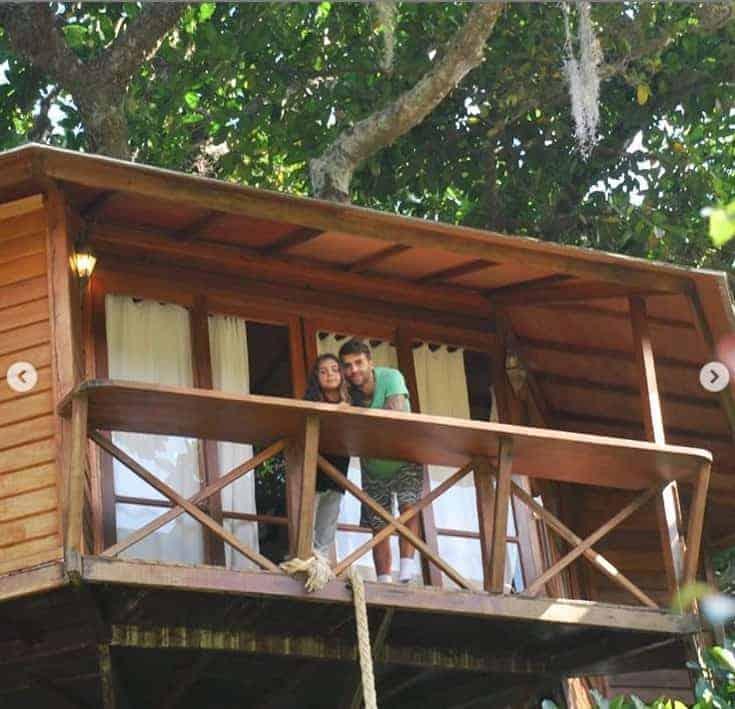 A casa na árvore em que o filho e o marido de Ivete Sangalo ficaram