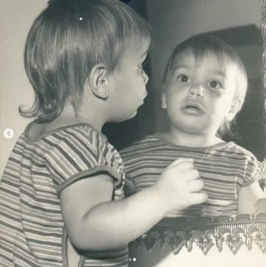 Ivete Sangalo quando era pequena