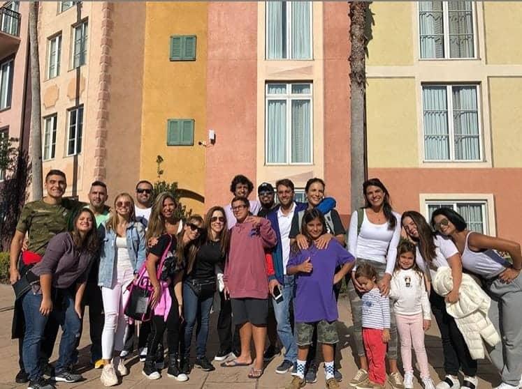 Ivete Sangalo e família em uma viagem nos EUA