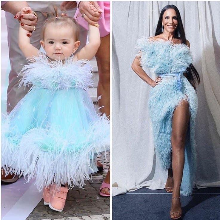 Bebê de Sabrina Sato com roupa igual a de Ivete Sangalo